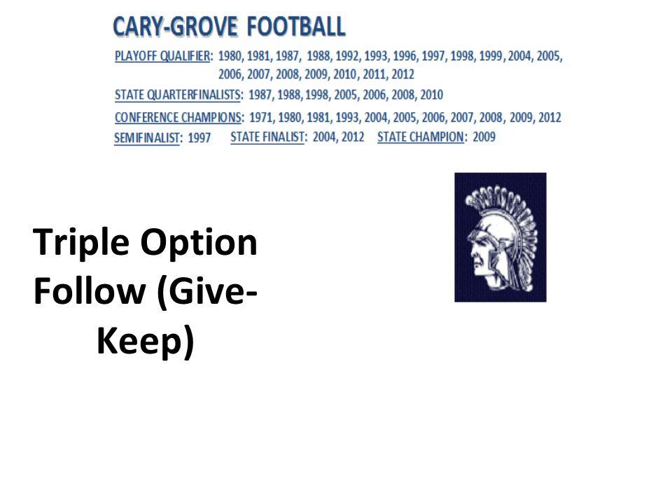 Triple Option Follow (Give- Keep)