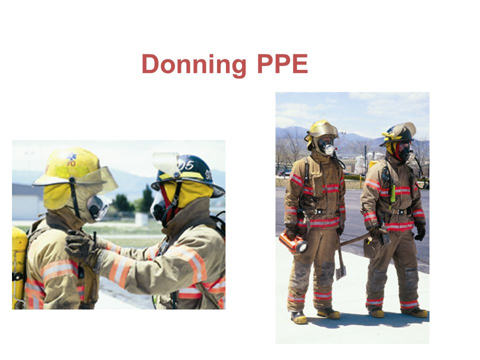 Donning PPE