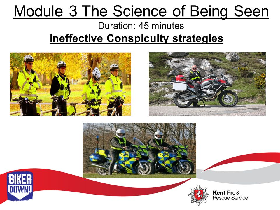 Module 3 The Science of Being Seen Duration: 45 minutes Motion Camouflage Ineffective Search Strategies