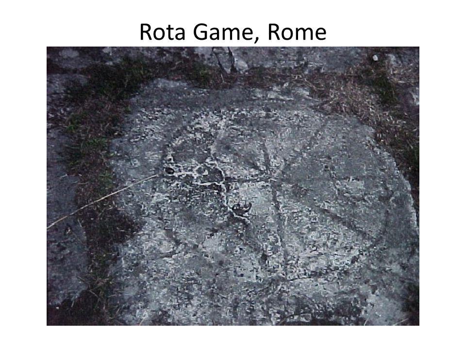 Rota Game, Rome