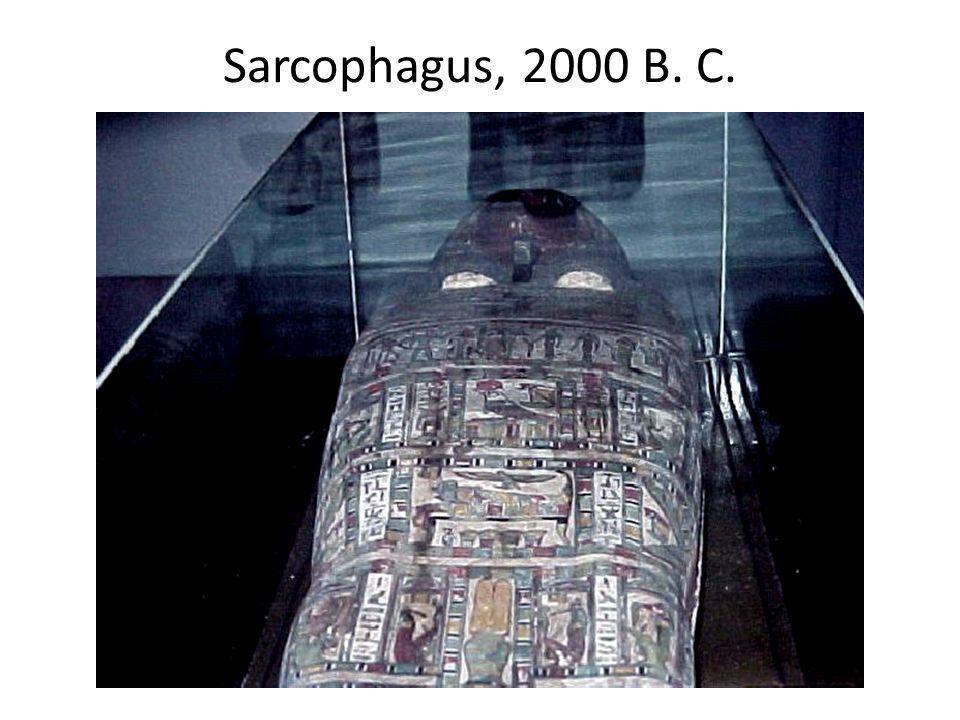 Sarcophagus, 2000 B. C.