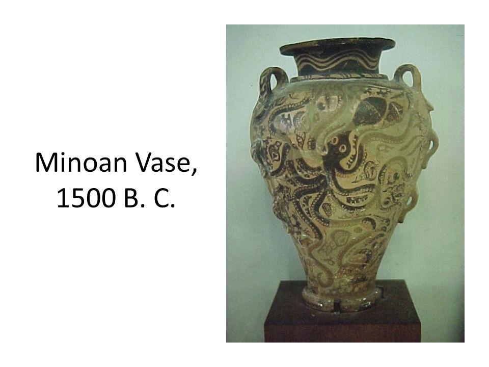 Minoan Vase, 1500 B. C.