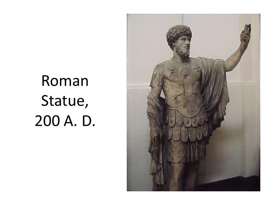 Roman Statue, 200 A. D.