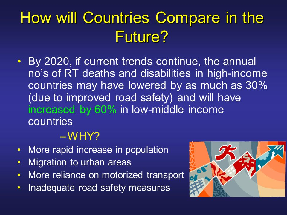Intervention RT deaths and serious injuries are to a great extent preventable RT injury needs to be considered alongside heart disease, cancer and stroke as a preventable public health problem that responds well to targeted interventions.
