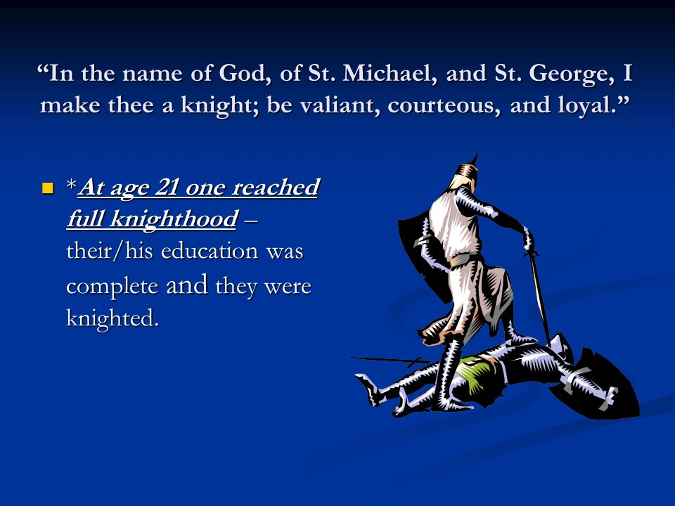 In the name of God, of St.Michael, and St.