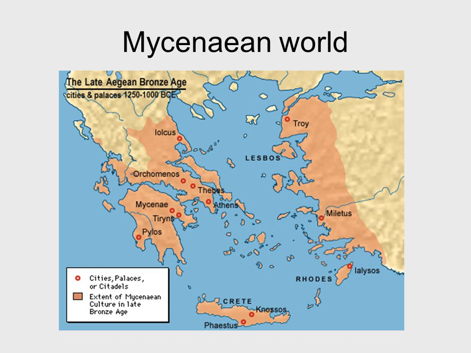 Chronology 2200-1500 BC: Height of Minoan civilization 1600-1100: Height of Mycenaean civilization 1100-750: Greek Dark Age 750: Homer