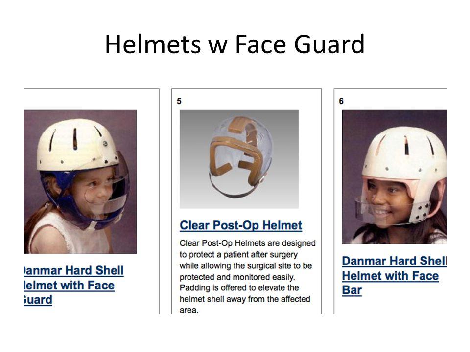 Helmets w Face Guard