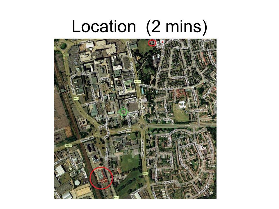 Location (2 mins)