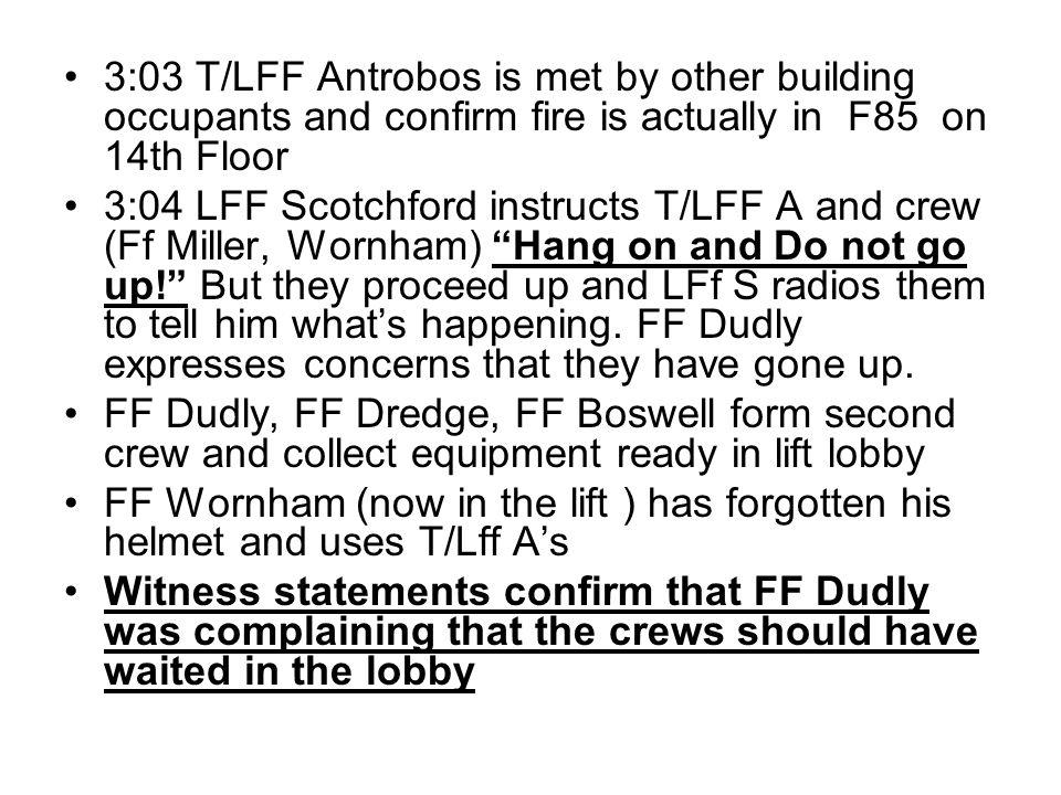 THANKS KFRS Thames Gateway Regional forum (High Rise) HFRS FBU BRE Martin Arrowsmith (Welwyn Garden City.