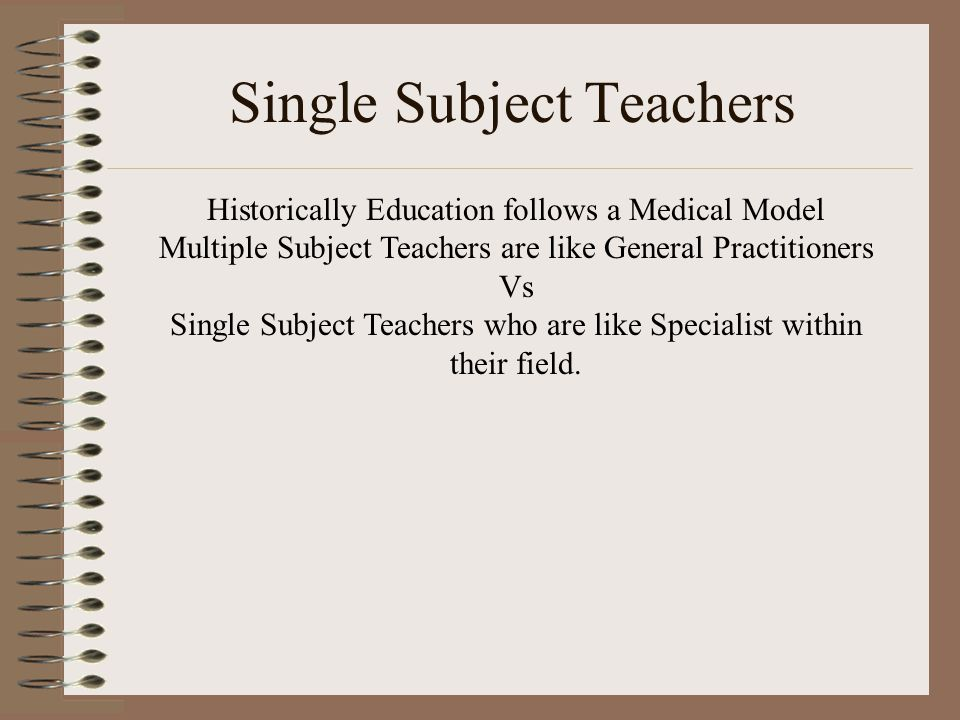 Multiple Subject Teachers ELAMath 5th & 6th period PE & Electives ELASci 5th & 6th period PE & Electives ELASS 5th & 6th period PE & Electives