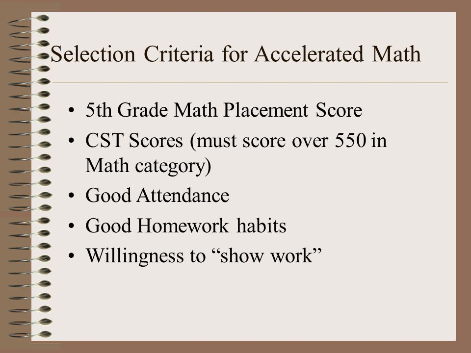a-g Requirements (c) Mathematics Three units(equivalent to three one-year courses) of college preparatory mathematics are required.
