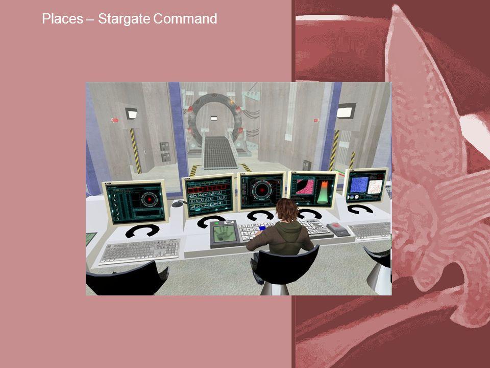 Places – Stargate Command