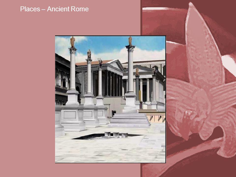 Places – Ancient Rome