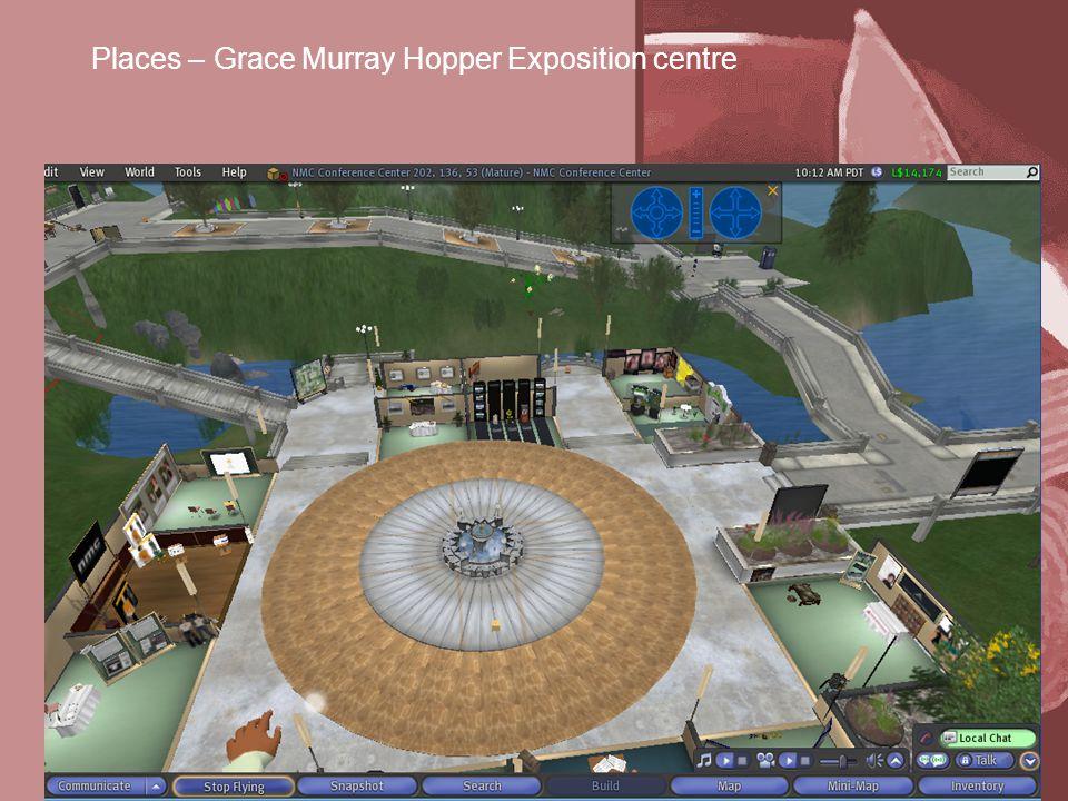 Places – Grace Murray Hopper Exposition centre