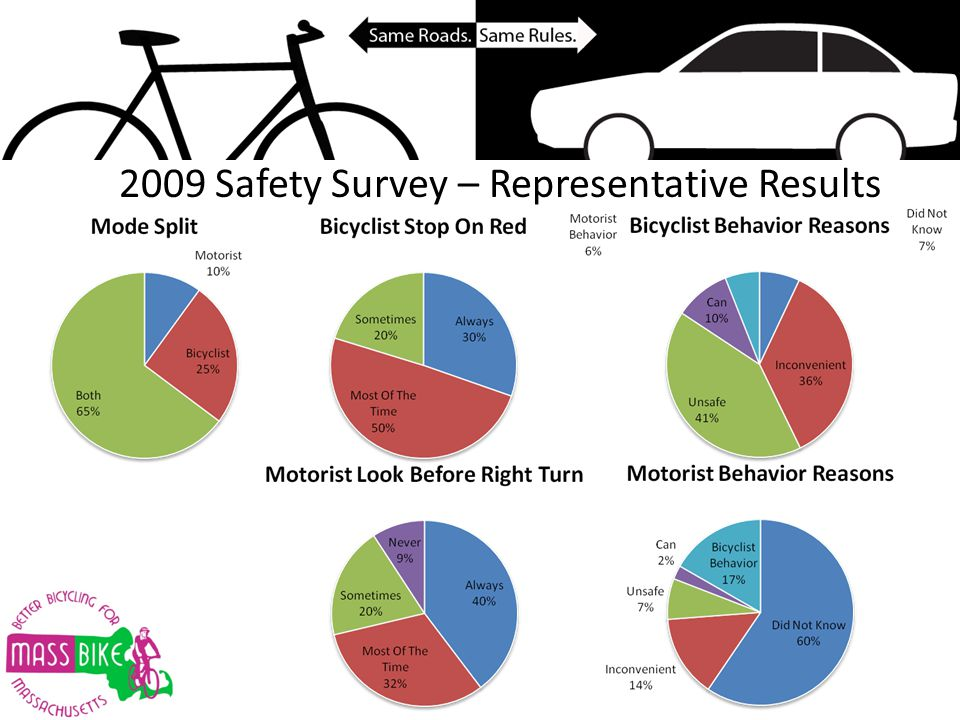 2009 Safety Survey – Representative Results