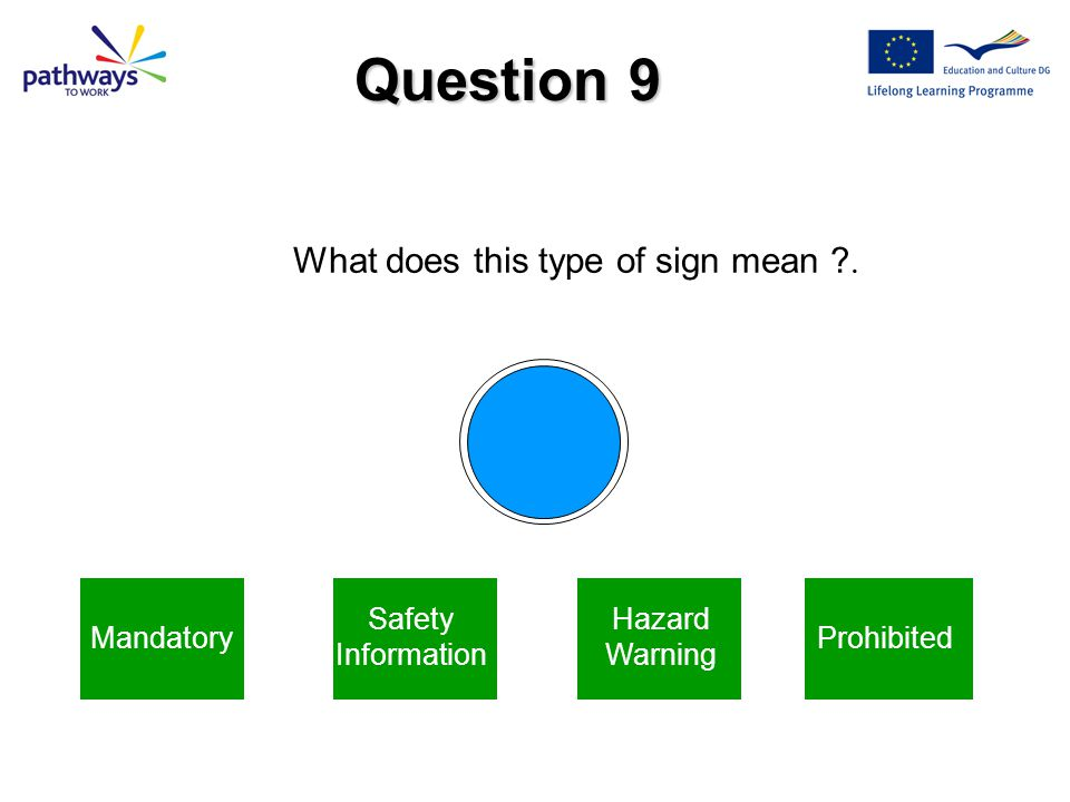 Next Question This means Danger Electricity Correct Answer
