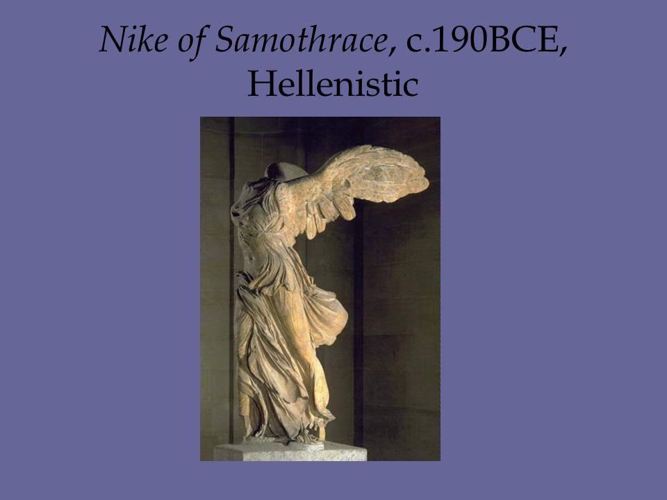 Nike of Samothrace, c.190BCE, Hellenistic