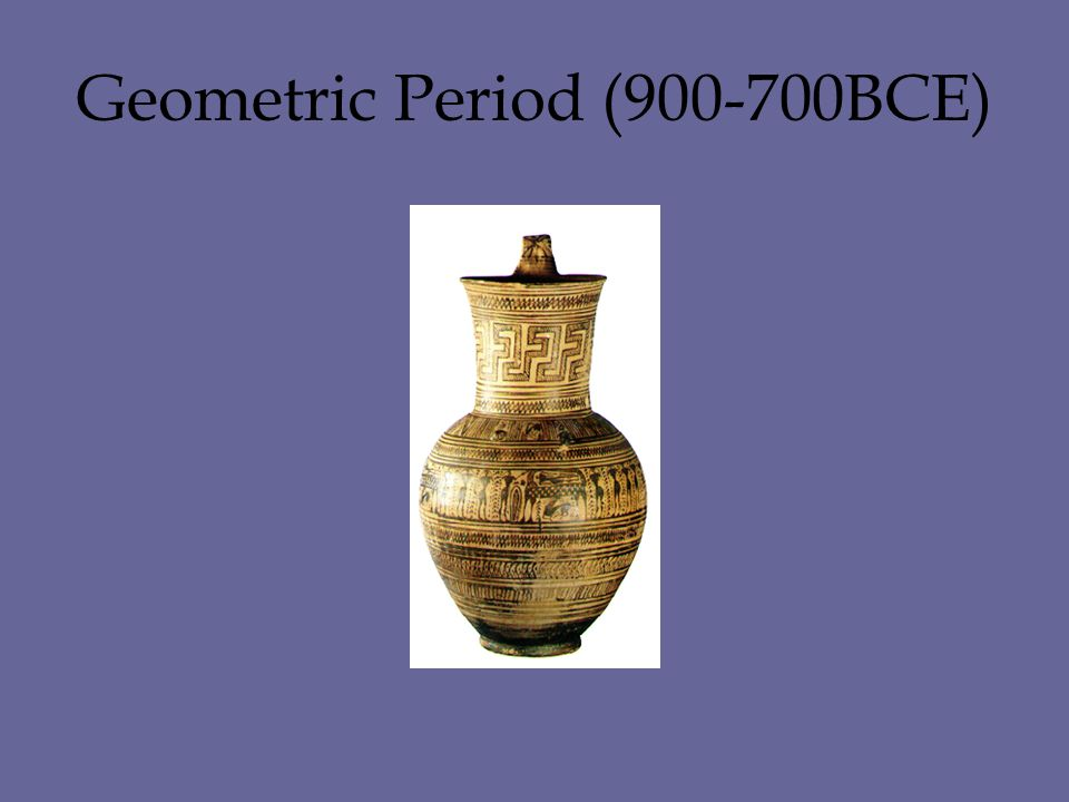 Geometric Period (900-700BCE)