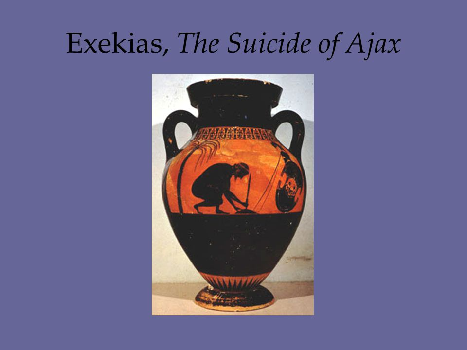 Exekias, The Suicide of Ajax