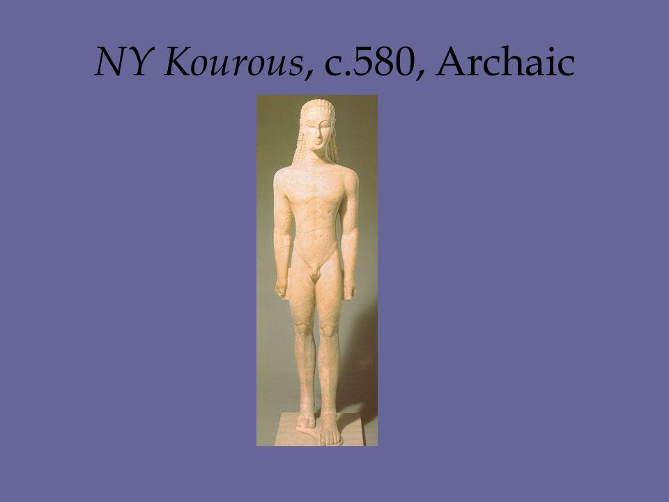 NY Kourous, c.580, Archaic