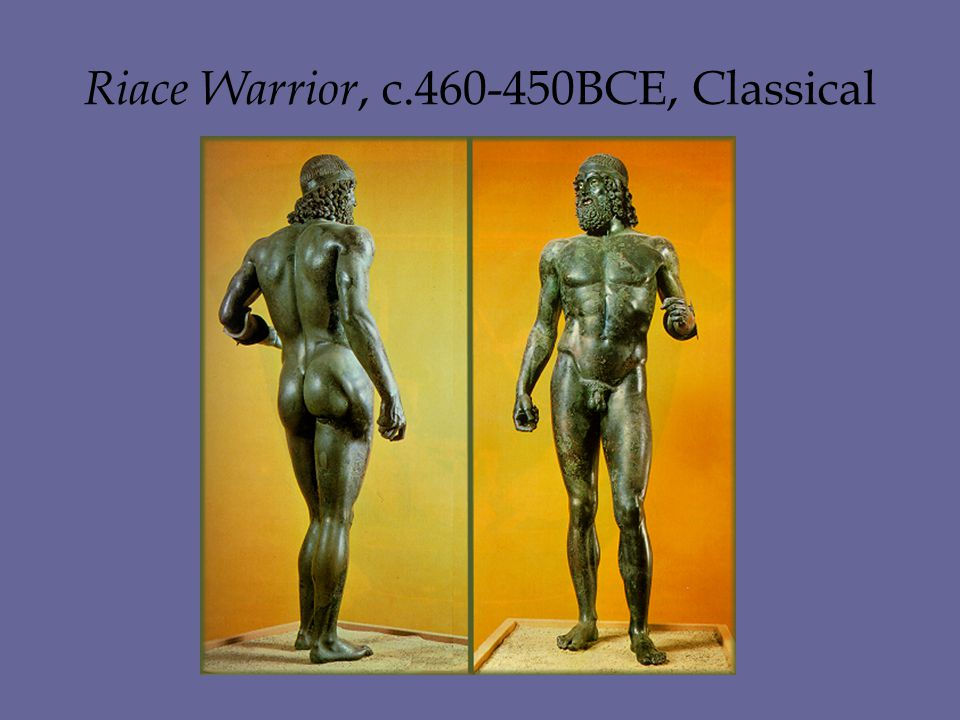 Riace Warrior, c.460-450BCE, Classical