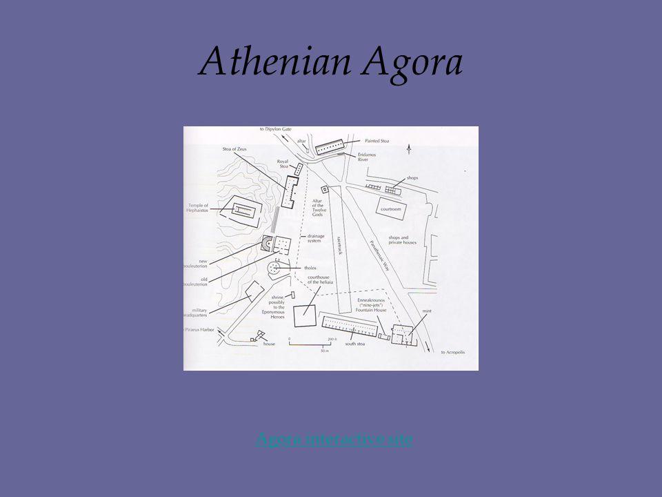 Athenian Agora Agora interactive site