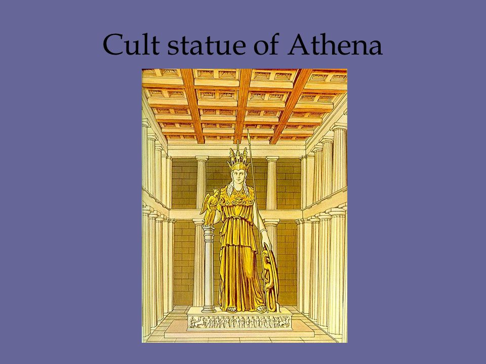 Cult statue of Athena