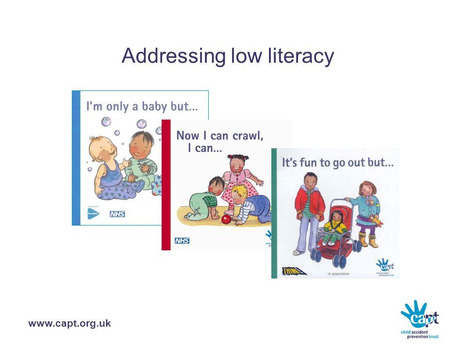 www.capt.org.uk Addressing low literacy