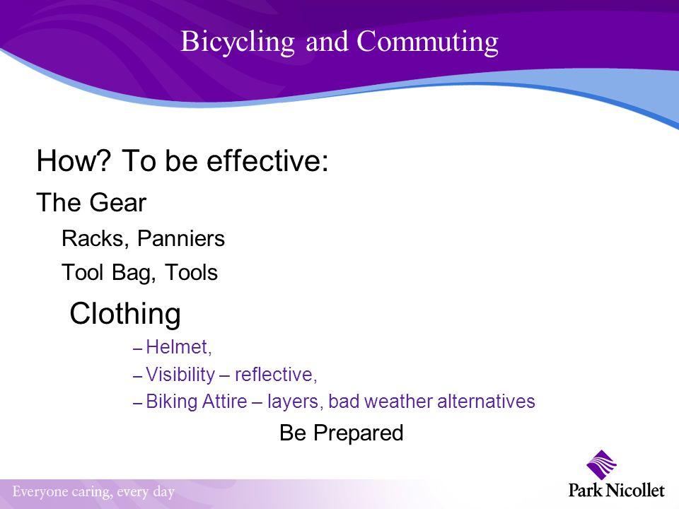 Bicycling and Commuting How.