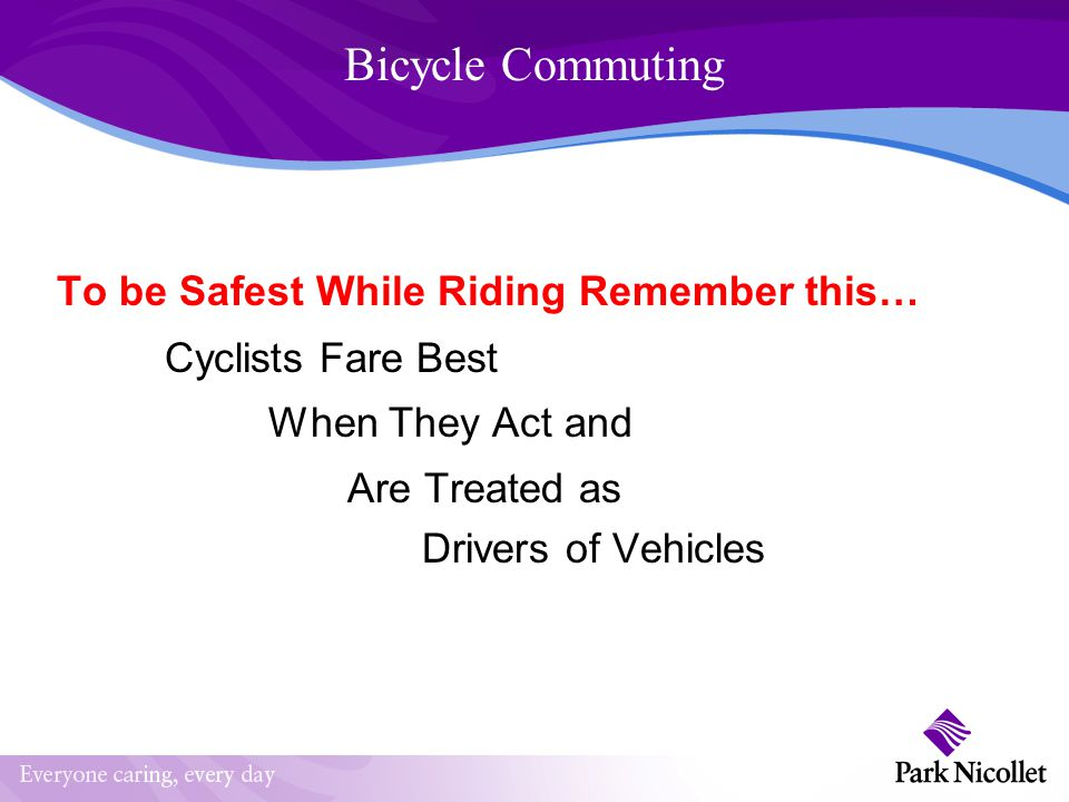 Bicycling and Commuting Why Commute.