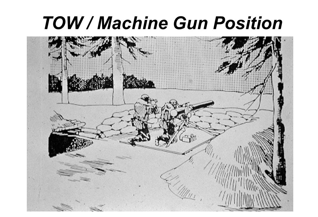 TOW / Machine Gun Position