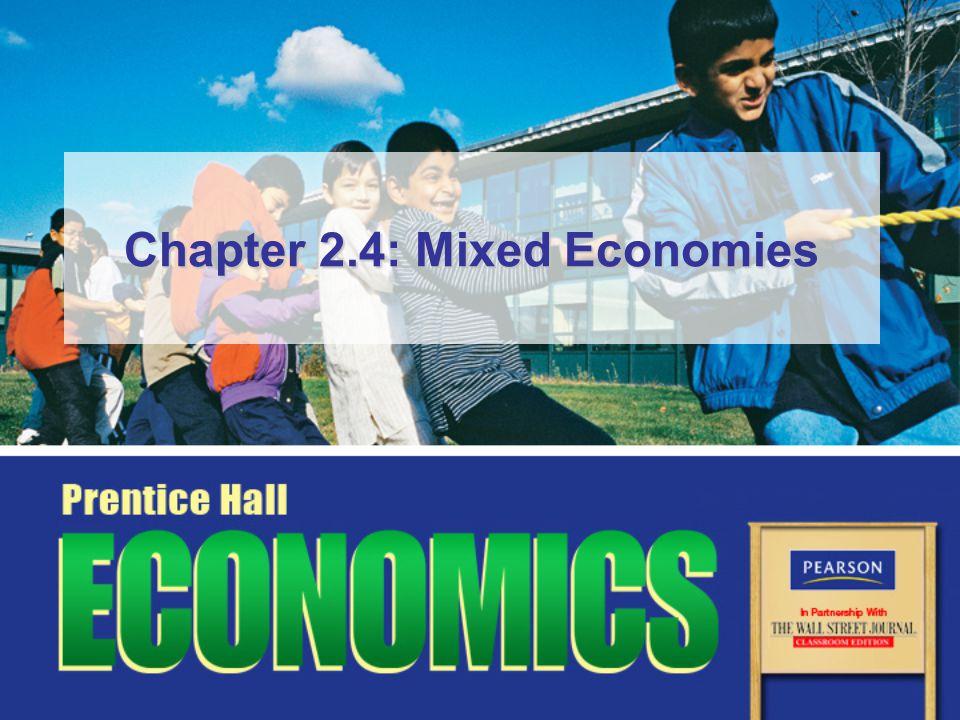 Chapter 2.4: Mixed Economies