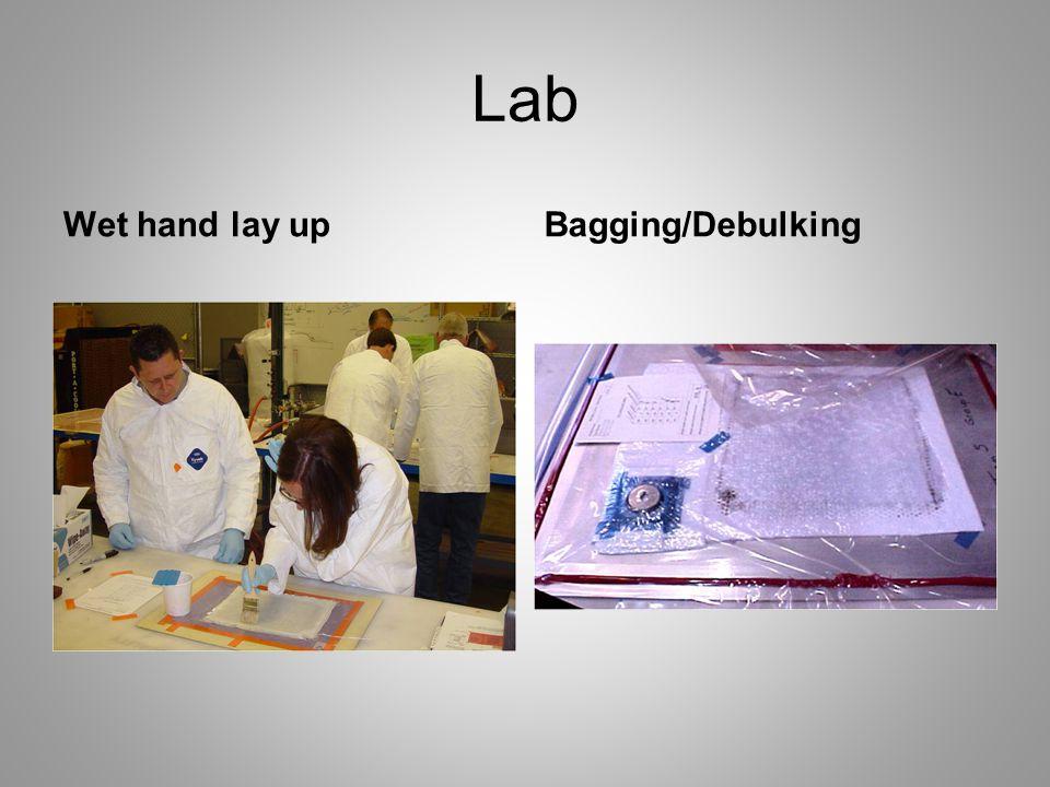 Lab Wet hand lay upBagging/Debulking