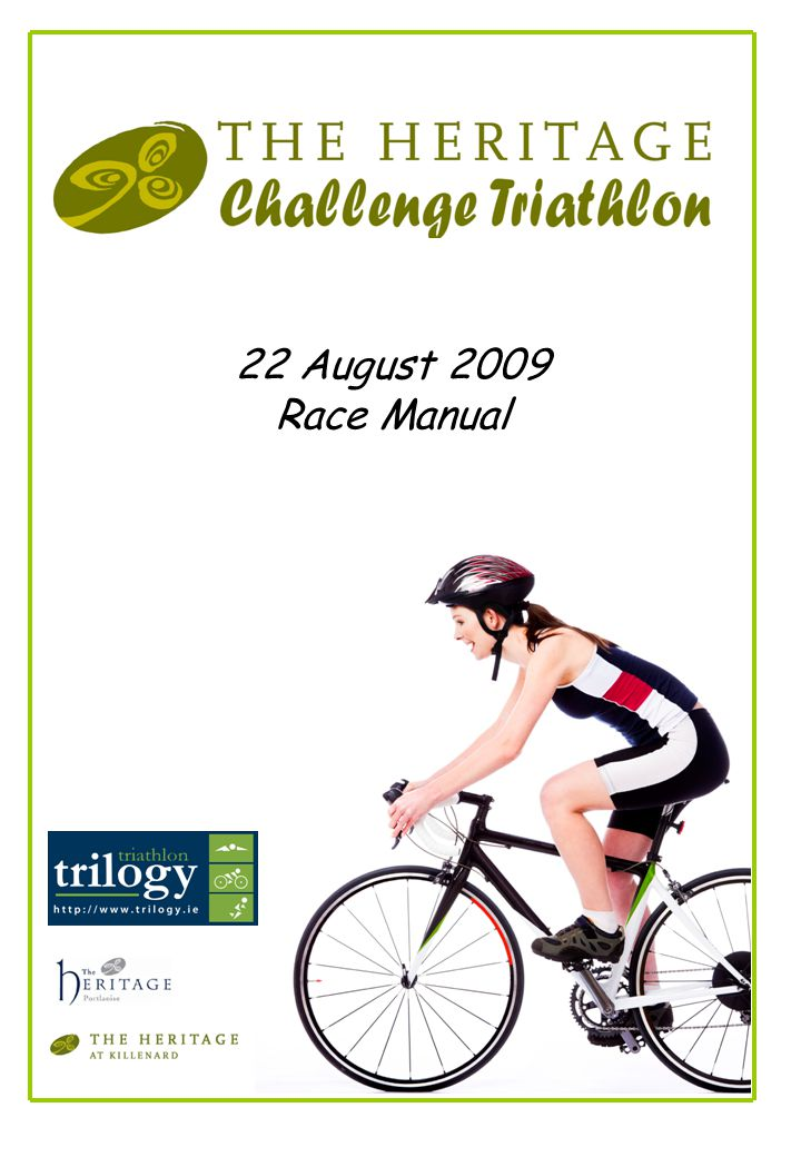 1 22 August 2009 Race Manual