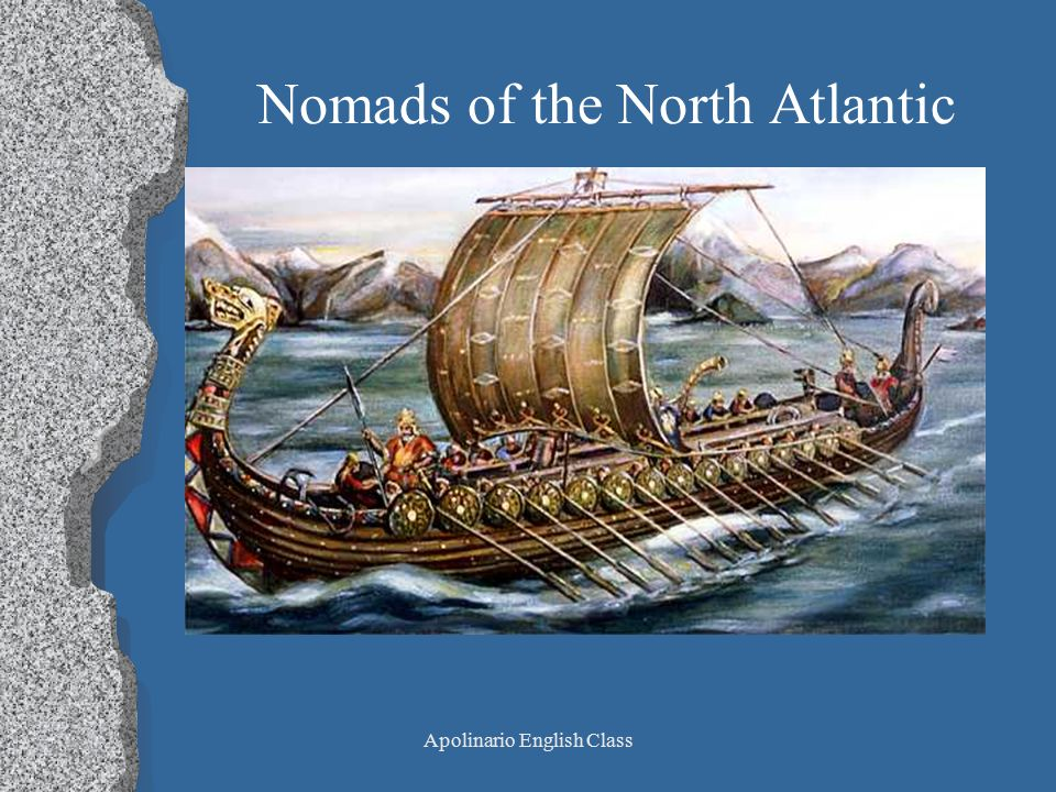Apolinario English Class Nomads of the North Atlantic