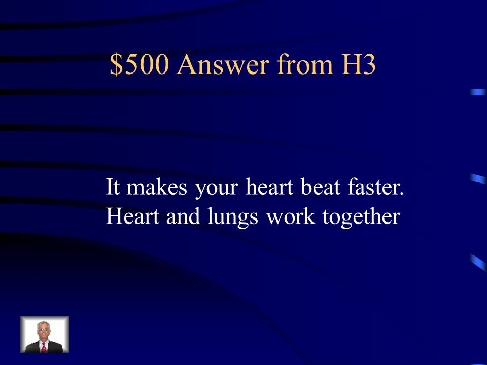 $500 Question from H3 How does exercise affect heart rate