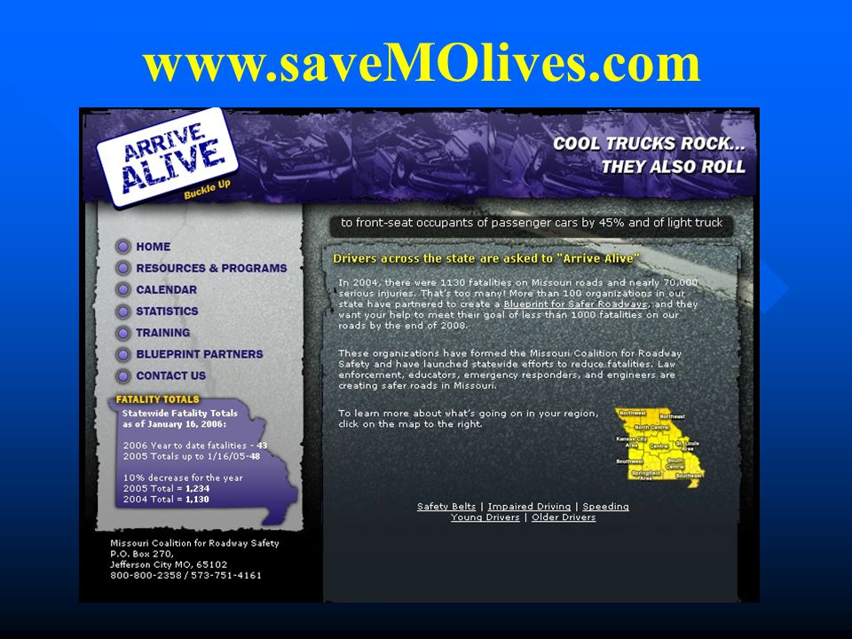 www.saveMOlives.com