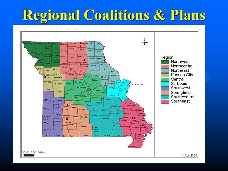 Regional Coalitions & Plans