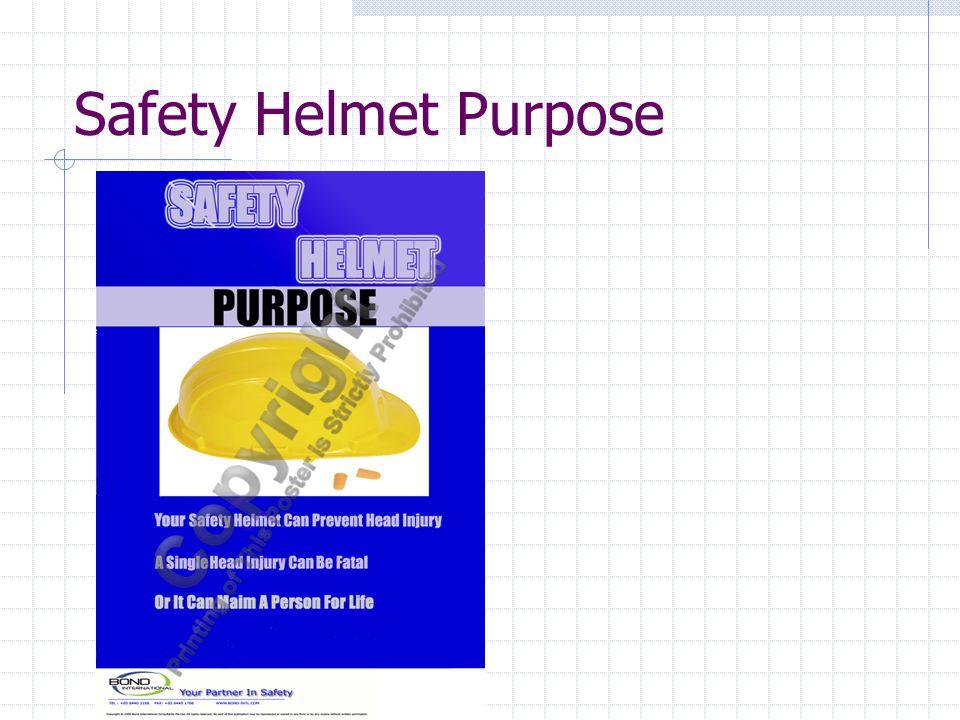 Safety Helmet Purpose