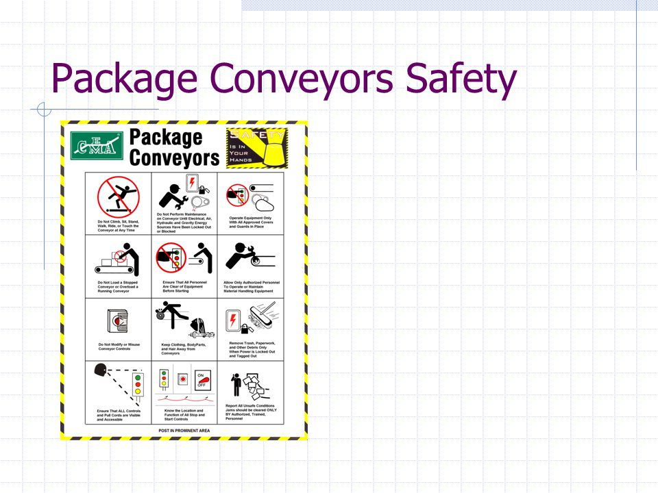 Package Conveyors Safety
