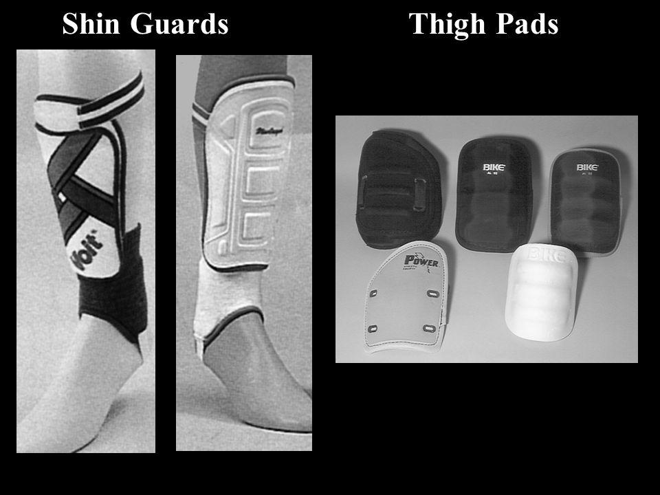 Shin GuardsThigh Pads