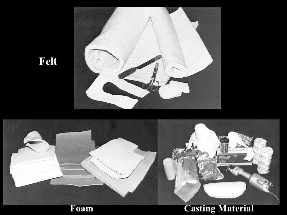 Felt Foam Casting Material