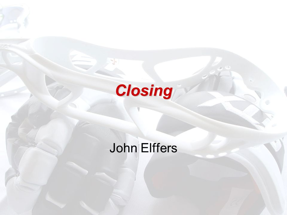 Closing John Elffers