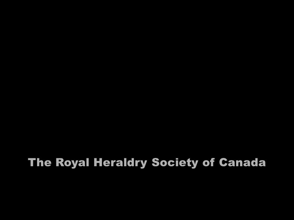 The Royal Heraldry Society of Canada