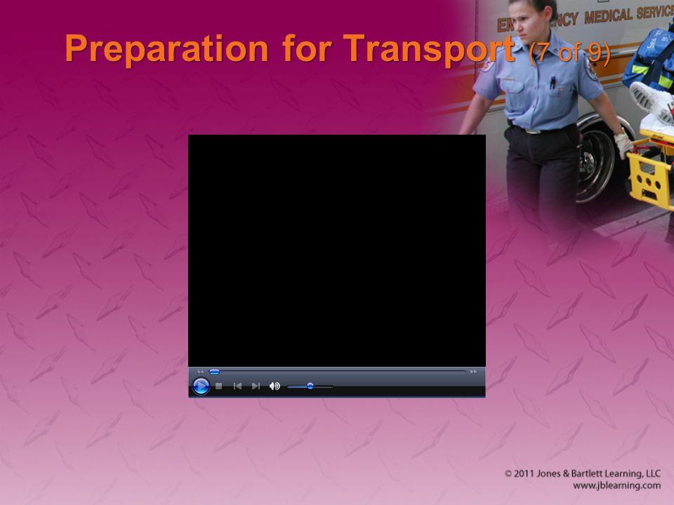 Preparation for Transport (7 of 9)