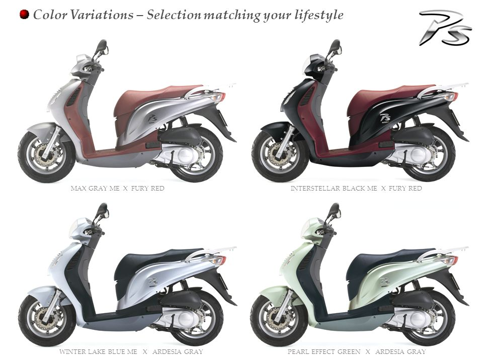 Color Variations – Selection matching your lifestyle INTERSTELLAR BLACK ME X FURY RED MAX GRAY ME X FURY RED PEARL EFFECT GREEN X ARDESIA GRAYWINTER L