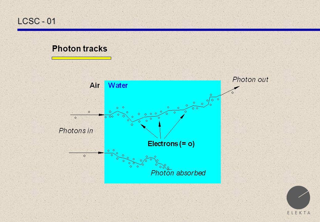 LCSC - 01 Photon tracks