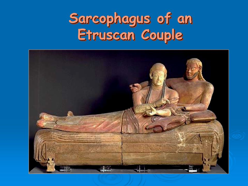 Sarcophagus of an Etruscan Couple