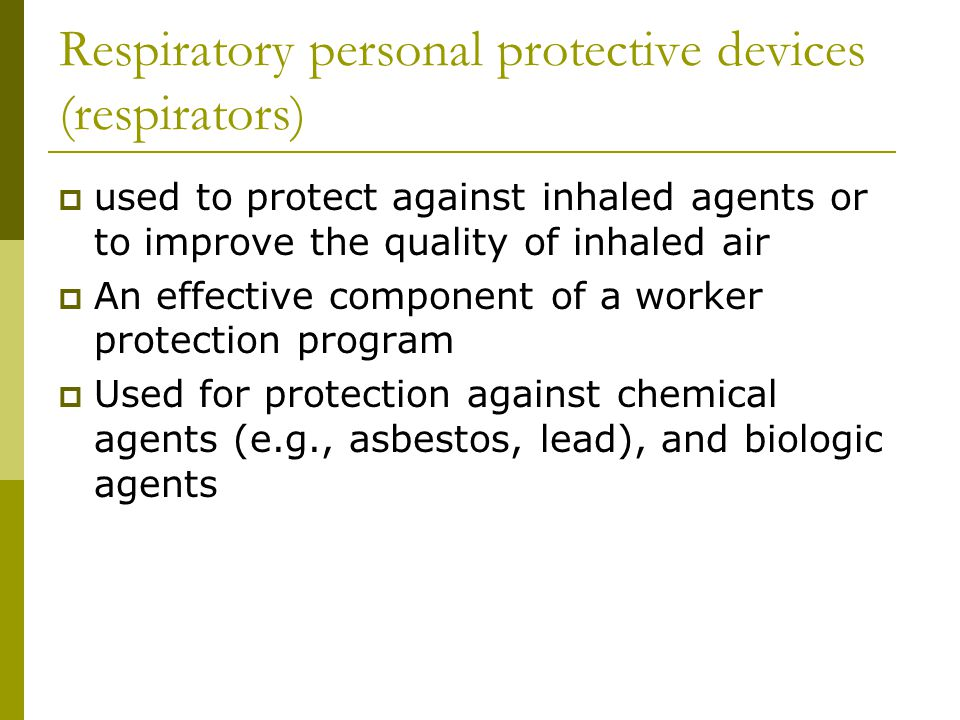 ASSIGNED PROTECTION FACTOR TABLE Pressure Demand Supplied-Air Respirators Half Mask APF=50 Full Face APF=1,000