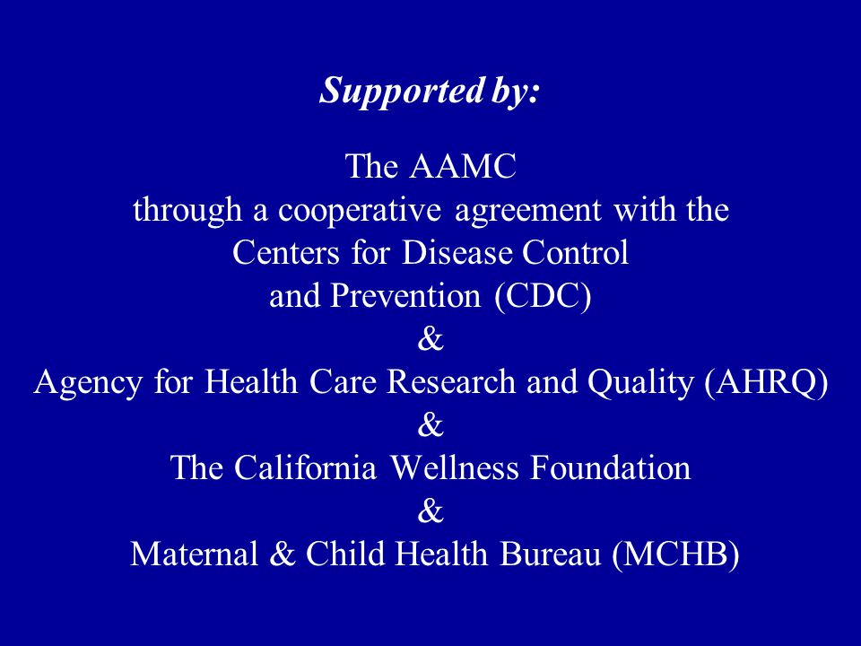 RESEARCH GOAL 2  Evaluate the effect of preventive screening and counseling on adolescent behavior